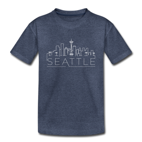 Seattle, Washington Toddler T-Shirt - Skyline Seattle Toddler Tee