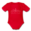 Seattle, Washington Baby Bodysuit - Organic Skyline Seattle Baby Bodysuit