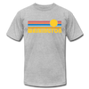 Washington T-Shirt - Retro Sunrise Unisex Washington T Shirt