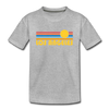 Los Angeles, California Youth T-Shirt - Retro Sunrise Youth Los Angeles Tee