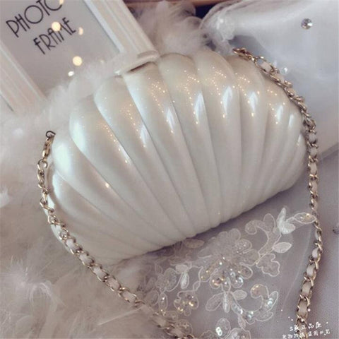 Hard Case Shell Purse