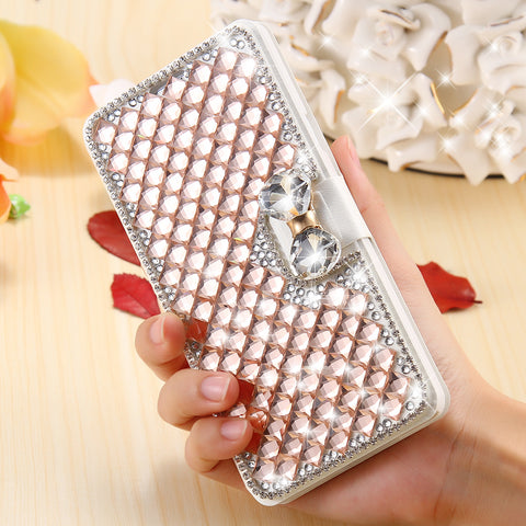 Adorable Samsung Galaxy S7 / S7 edge Luxury Diamond Bow Cell Phone Case