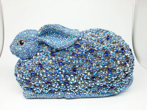 Bejeweled Bunny Clutch