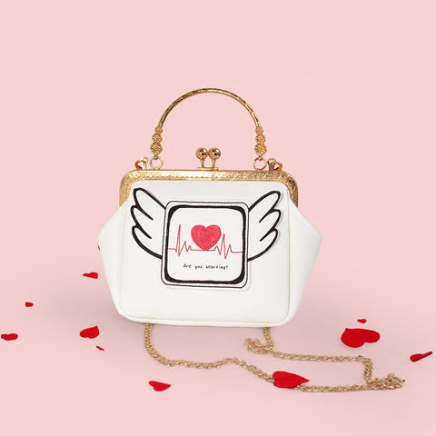 Winged Heart Coin Purse