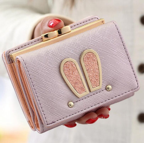 Sparkly Bunny Ears Wallet