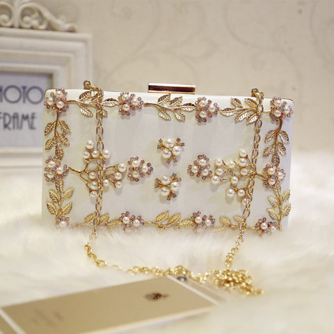 Crystal Beaded Evening Clutch