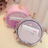 Perfume bottle handbags