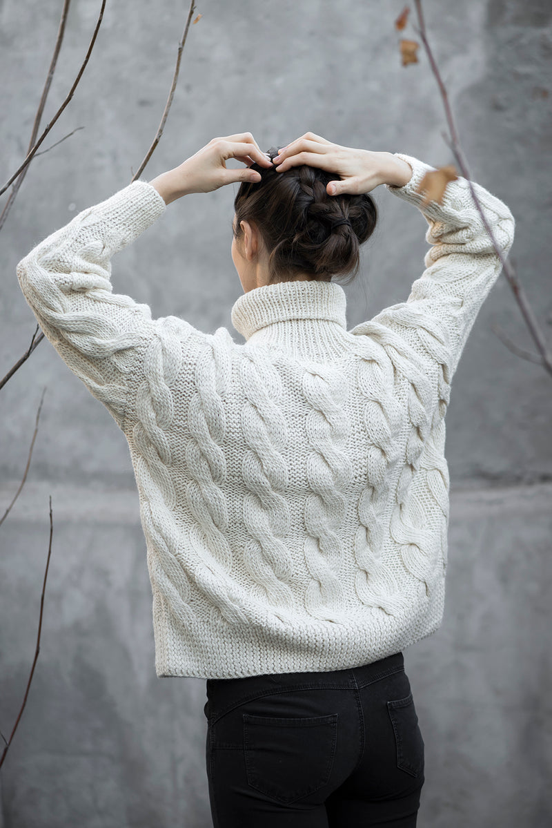 Sweater Maria Ivory
