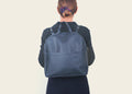 Round Backpack Blue