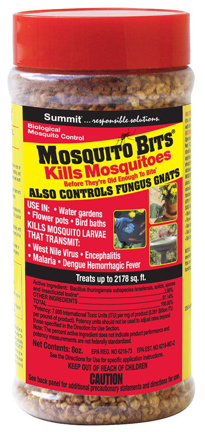 Mosquito Bits - Mosquito and Fungus Gnat Control - 8 oz.