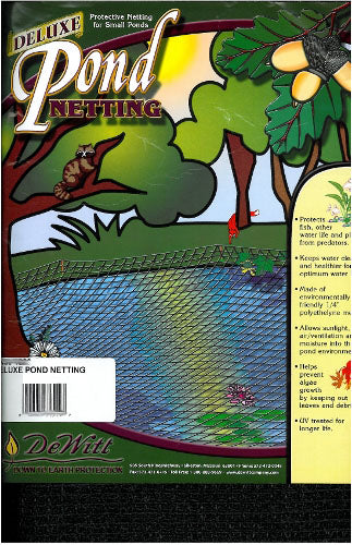 DeWitt Deluxe Pond Cover - Pond Netting