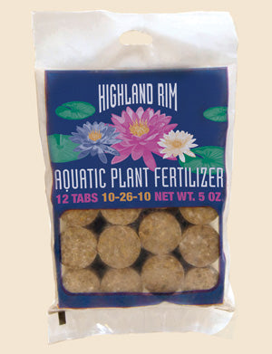 Highland Rim Pond Plant Water Lily Fertilizer Tablets 12 count