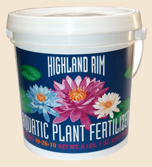 Highland Rim Pond Plant Water Lily Fertilizer Tablets 300 count
