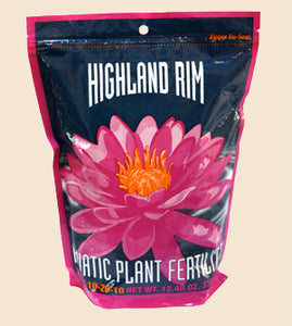 Highland Rim Pond Plant Water Lily Fertilizer Tablets 36 count