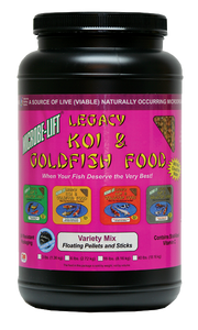 Microbe-Lift Legacy Koi and Goldfish Food - Variety Mix 2 lb. 4 oz.