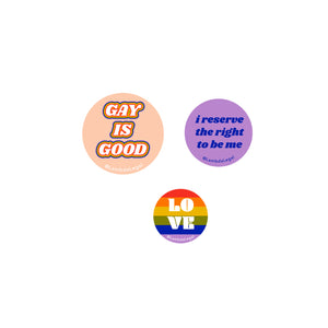 Pride Button Pack