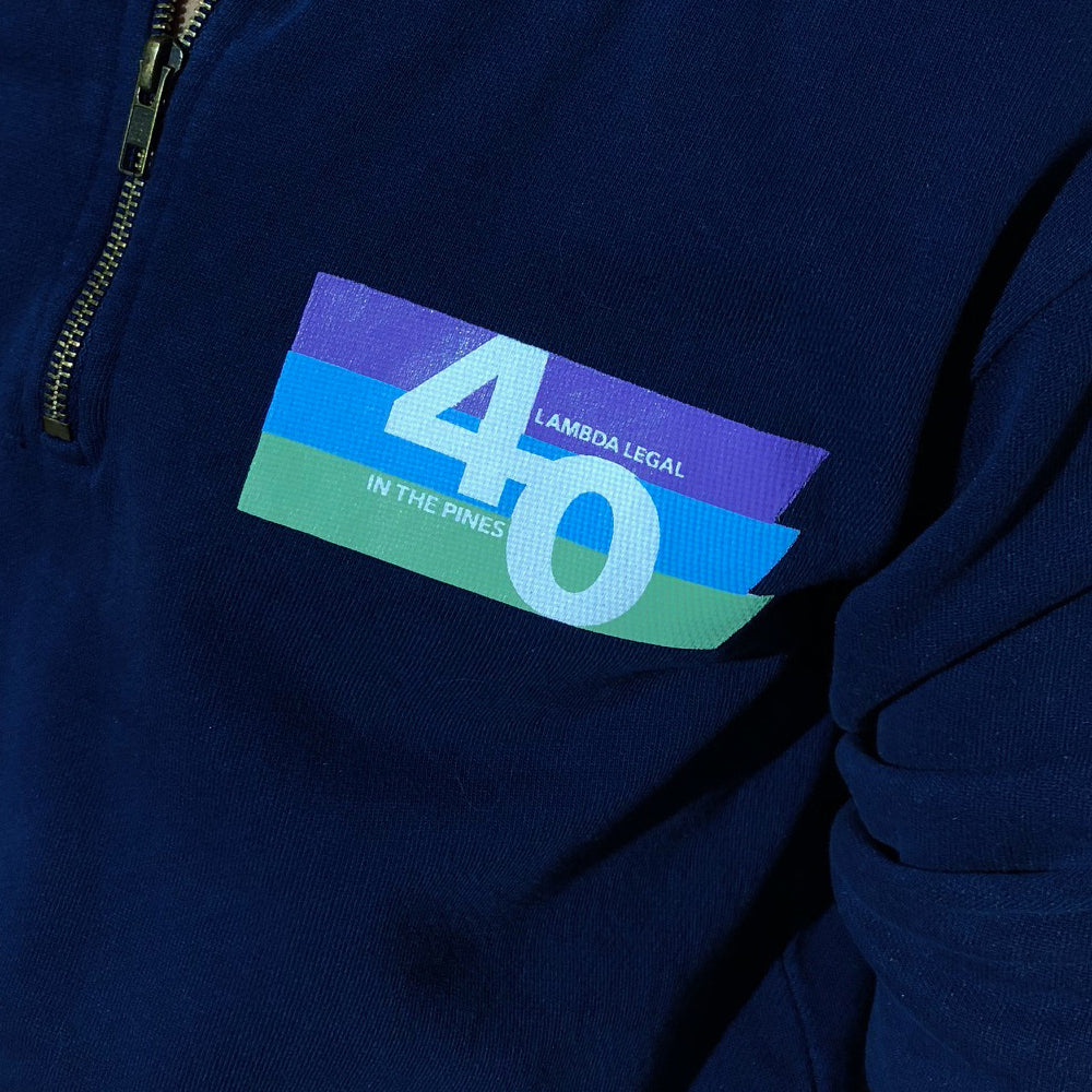 Pines 40th Limited-Edition ¼-Zip Pullover