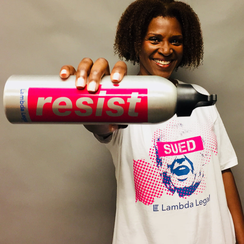Resist Water Bottle