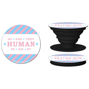 HUMAN Pop Socket