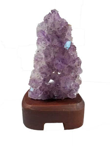 Sale - Natural Amethyst Lamp!