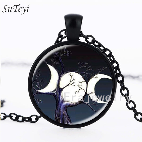 Sale - 2017 Triple Moon Goddess pendant