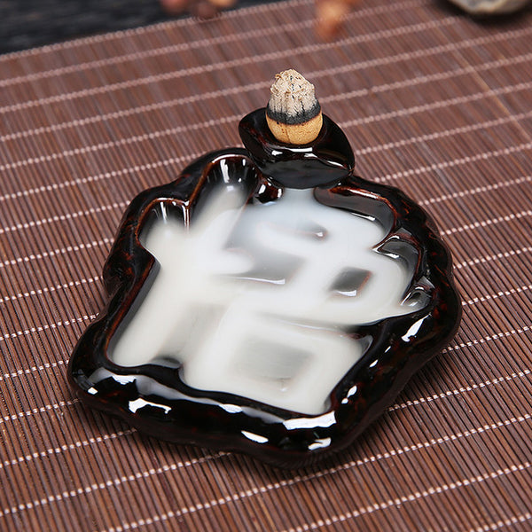 Smoke Backflow Incense Burners