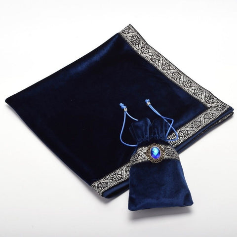 Tarot Card Bag and Matching Table Cloth