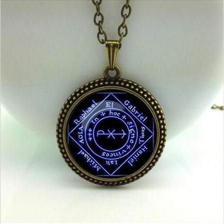 Black Cat pendant wiccan Necklace