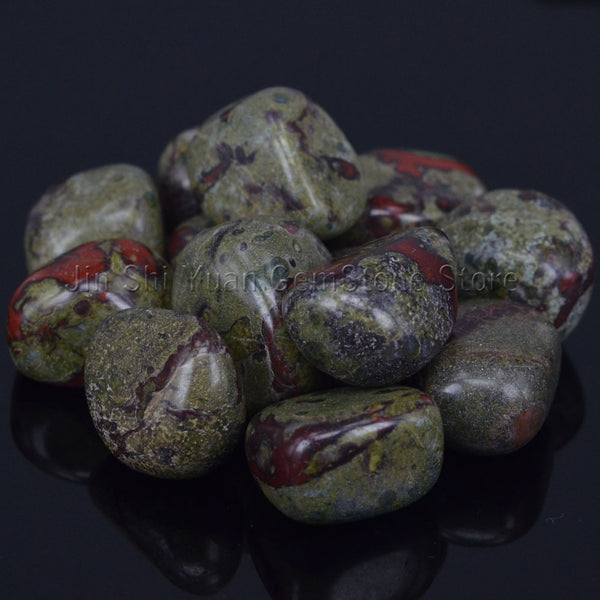 Bulk Tumbled Dragon Blood Stone From South Africa