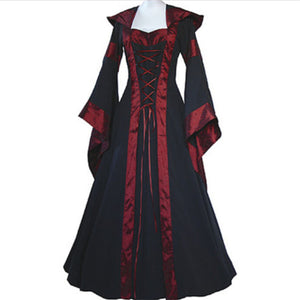 Dress Renaissance Medieval CottonPeasant Wench Victorian Dress