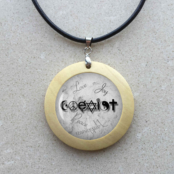 Wiccan Coexist Necklace