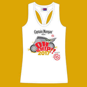 OhShip 2017 Ladies Vest - White