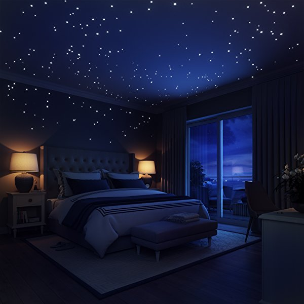 Awesome Starry Nights 3D Illuminating Stars