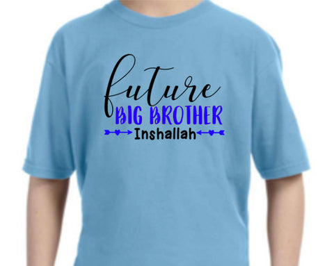 Future Big Bother Inshallah shirt
