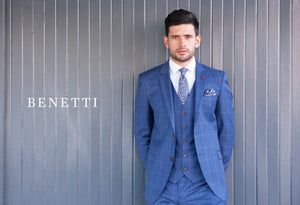 Benetti Suits at JJ Donnelly Menswear