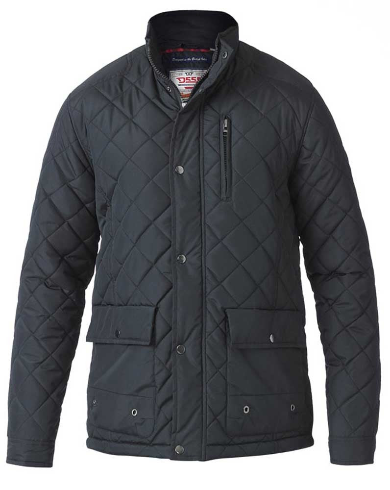 Duke Pollard Quilted Jacket Black