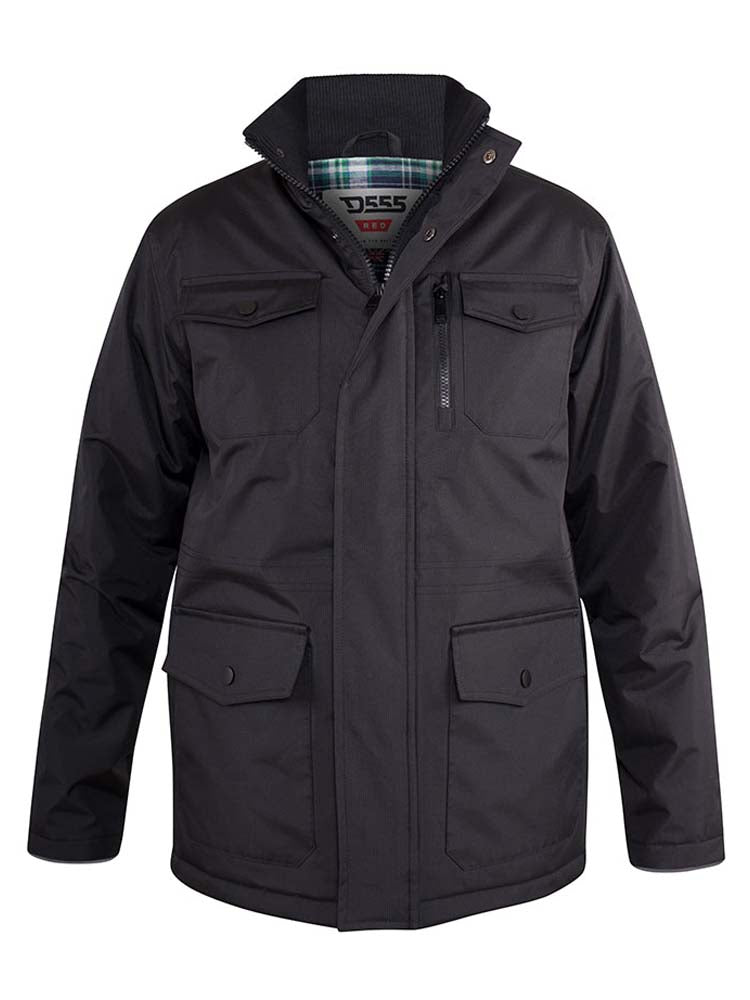 Duke Fargo Jacket - Black - jjdonnelly