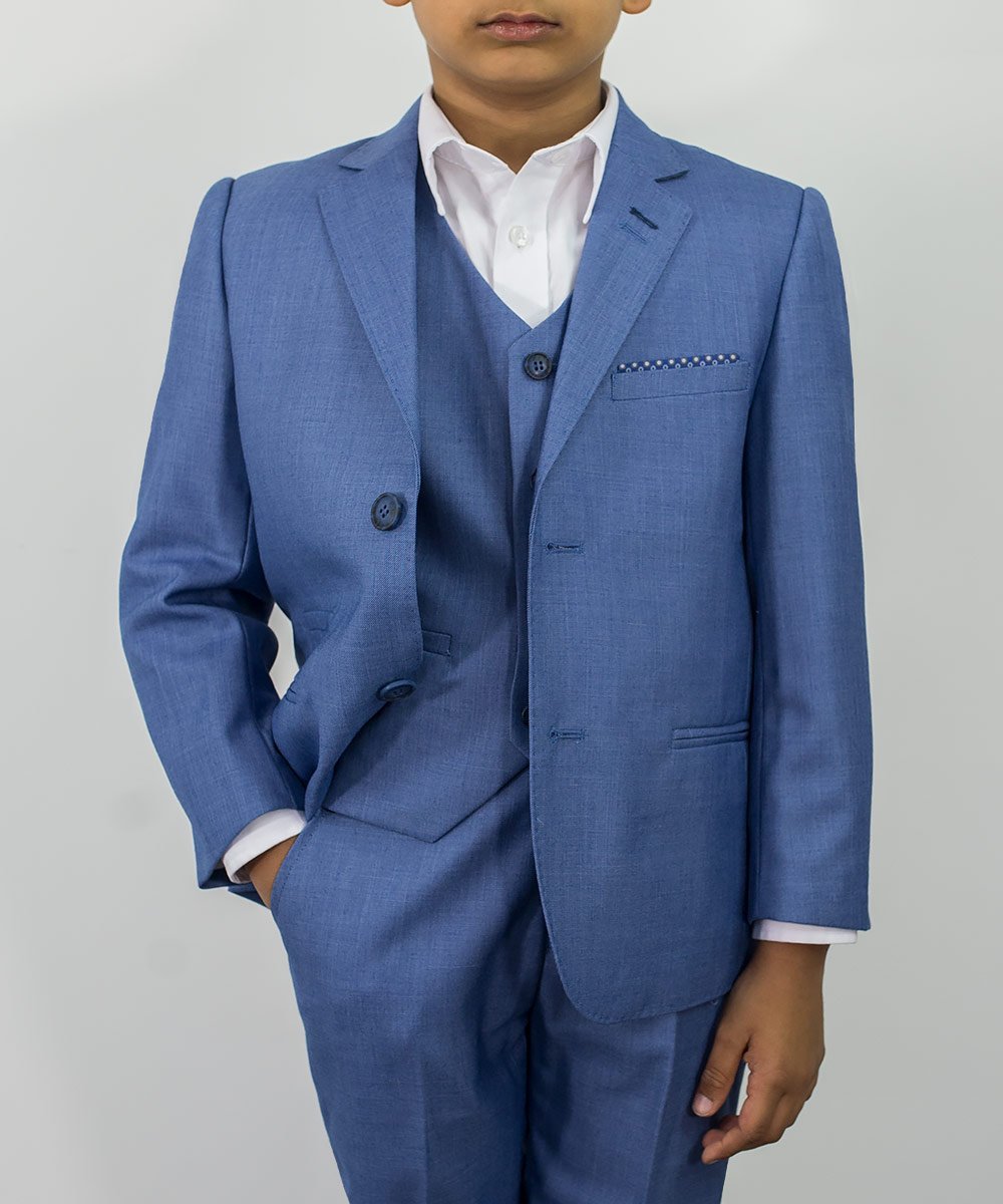 Cavani Boys Blue Jay Suit - jjdonnelly