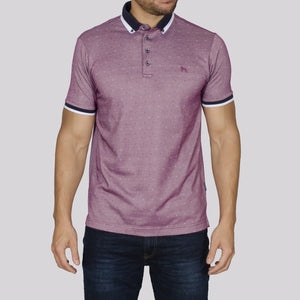Bewley & Ritch Donna Polo Shirt - Purple - jjdonnelly