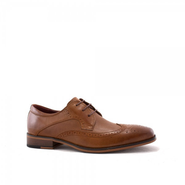 Escape Cleveland Lace Shoe - Caramel (Tan) - jjdonnelly