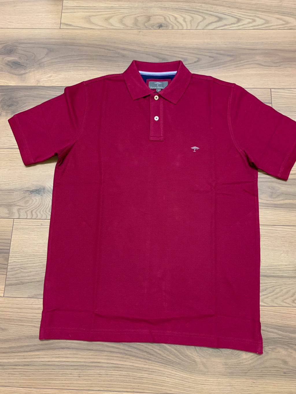 Fynch Hatton Modern Fit Polo - Berry - jjdonnelly