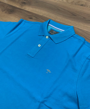 Fynch Hatton Modern Fit Polo - Crystal Blue (Turq) - jjdonnelly