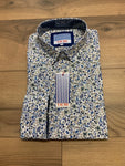 Vichi Tailored Fit Shirt - Floral Pattern
