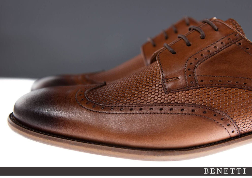 Benetti Louis Shoe - Tan - jjdonnelly