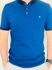 Mineral Princess Polo Shirt - Blue - jjdonnelly