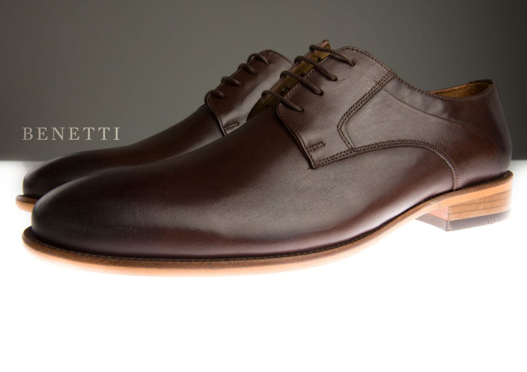 Benetti Murphy Shoe - Brown - jjdonnelly