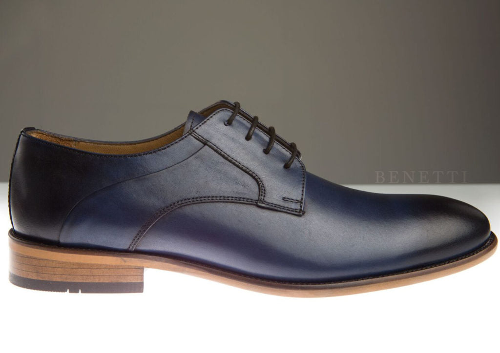 Benetti Murphy Shoe - Navy - jjdonnelly
