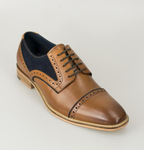 Cavani Naples Shoe - Tan - jjdonnelly