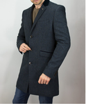 Cavani Overcoat Kingston Navy