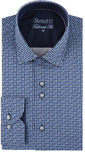 Benetti Willis Shirt - Navy - jjdonnelly